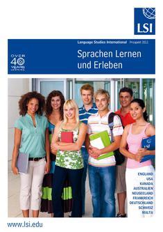 Sprachen Lernen und Erleben 2011