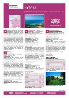 Französisch Sprachreisen in Hyères Frankreich 2011