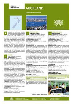 Englisch Sprachreisen in Auckland Neuseeland 2011