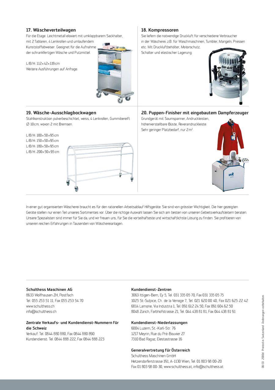 Seite 4 Von Wäschereizubehör 2010