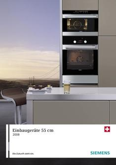 backofen 50 cm breit in einbauger te 2008 von siemens. Black Bedroom Furniture Sets. Home Design Ideas