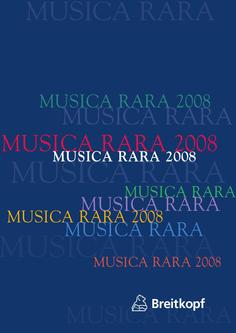 Musica Rara 2008