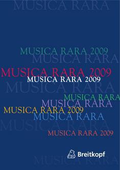 Musica Rara 2009