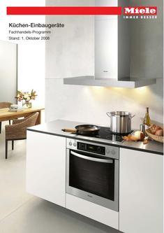 Küchen-Einbaugeräte Fachhandels-Programm 2008