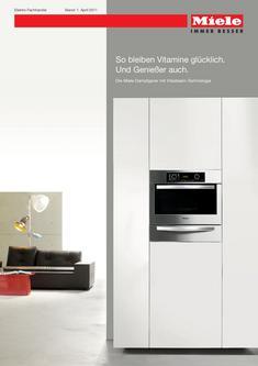 Dampfgarer mit Vitasteam-Technologie Elektro-Fachhandel 2011