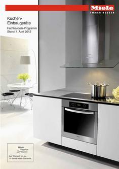 Küchen-Einbaugeräte Fachhandels-Programm 2012