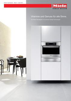 Dampfgarer mit Vitasteam - Technologie  Elektro-Fachhandel 2012