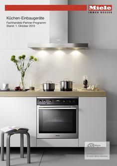 Küchen-Einbaugeräte Fachhandels-Partner-Programm Okt. 2013