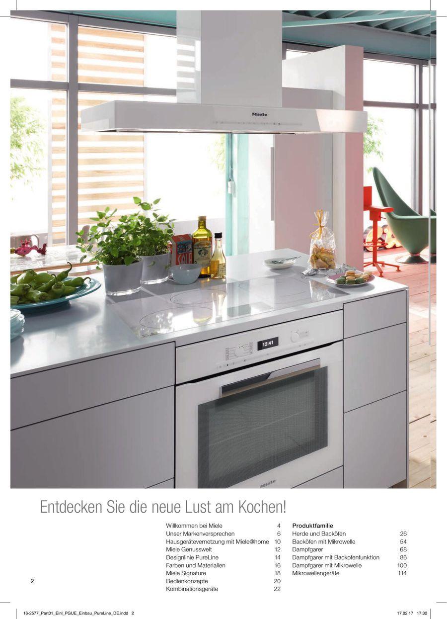 Kuchen Einbaugerate Classic Partner Programm 2017 Von Miele Deutschland