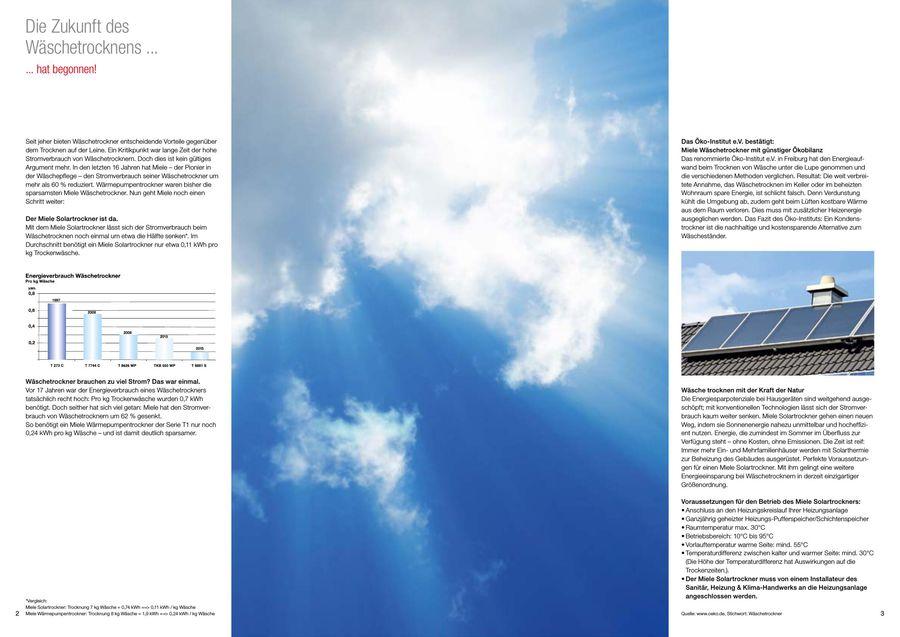 Solartrockner t 8881 s 2017 von miele deutschland