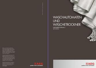 Freistehende Waschmaschinen und Wäschetrockner Partnerprogramm 2013/2014