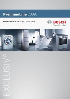 einbau k hlschrank mit schublade in premiumline 2008 2009 von robert bosch hausger te. Black Bedroom Furniture Sets. Home Design Ideas