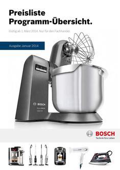 Robert Bosch Hausgerate Kataloge