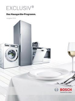 Hausgeräte-Programm 2014