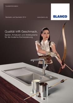 Spülen, Armaturen und Abfallsysteme für die moderne Küche 2013