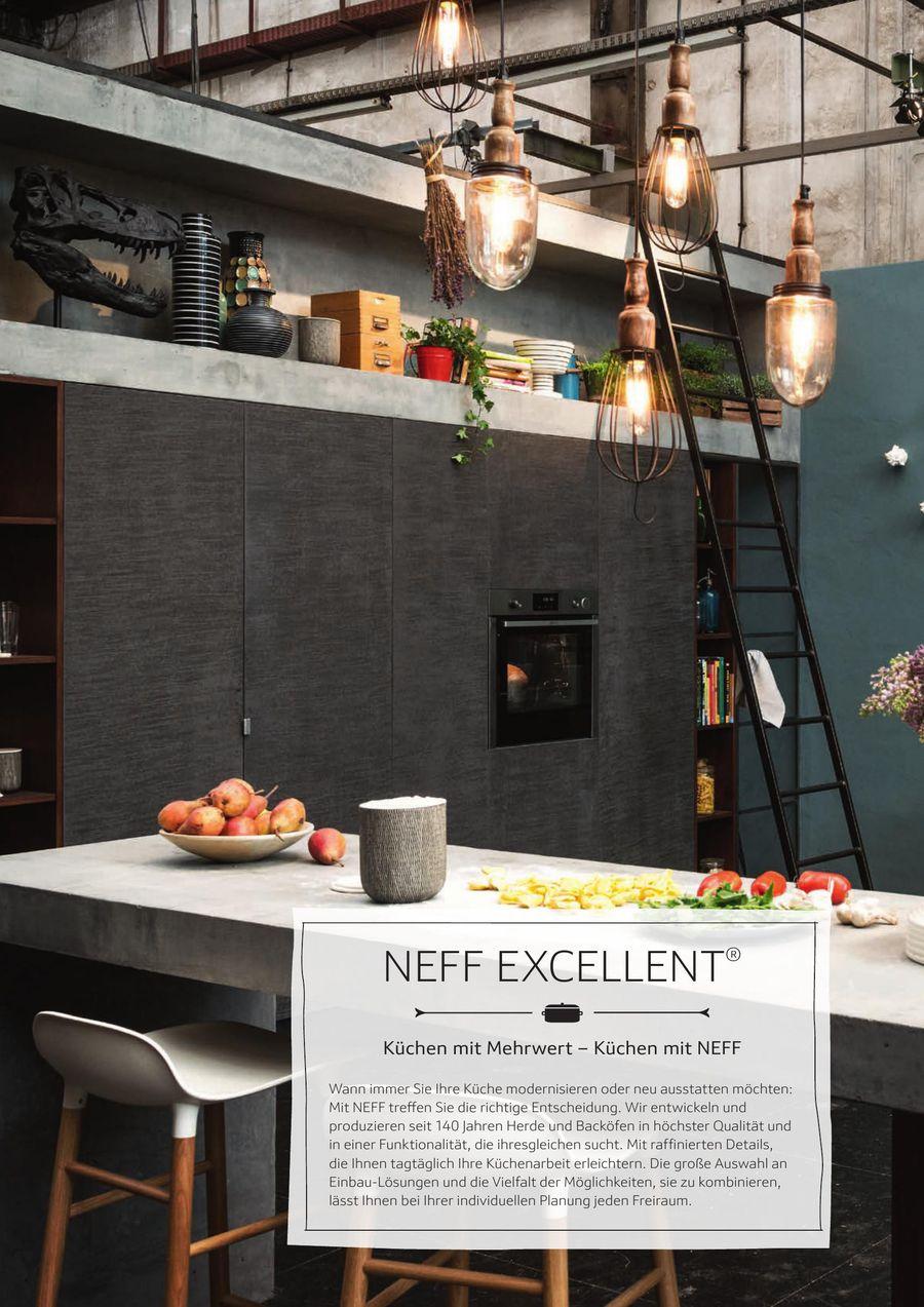 NEFF excellent® 2018 von Neff Küchengeräte