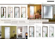 glast ren satiniert motive in ganzglast ren von tat tischlerei. Black Bedroom Furniture Sets. Home Design Ideas