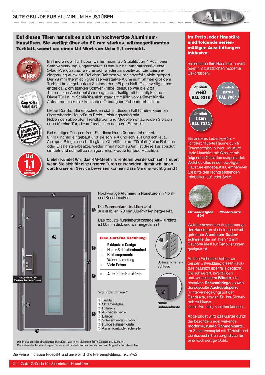 aluminium haust ren hellweg mattenwereld. Black Bedroom Furniture Sets. Home Design Ideas