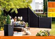 garten sichtschutz metall in gartenwelt 2009 von l chau. Black Bedroom Furniture Sets. Home Design Ideas
