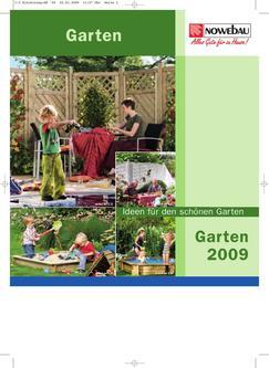 Nowebau Garten 2009