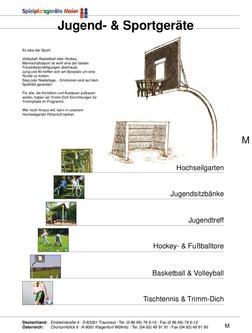 Jugend- & Sportgeräte 2009