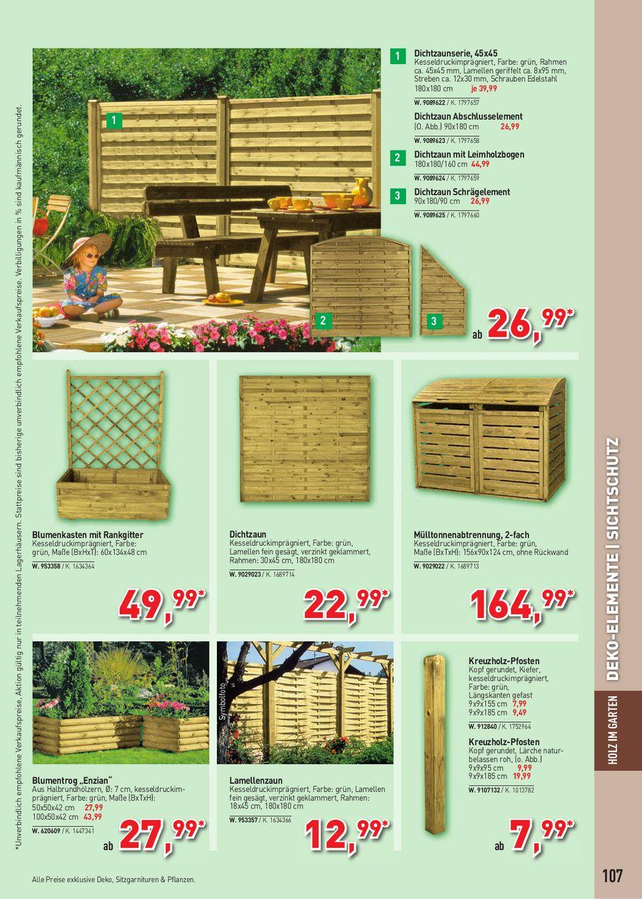 Holz Im Garten Garten Freizeit Katalog 2011 Von Raiffeisen