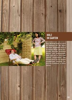 Zaunlatten Halbrund Gefrast In Holz Im Garten 2009 Von Raiffeisen