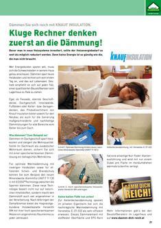 Renovieren, Sanieren & Innenausbau (Seite 21-40)