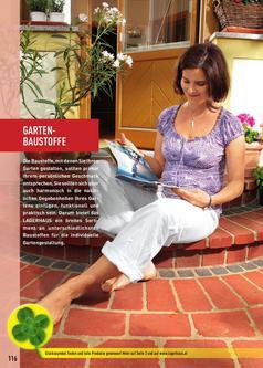 Gartenbaustoffe Garten & Freizeit Katalog 2011