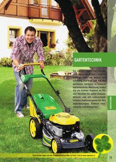 Gartentechnik Garten & Freizeit Katalog 2011