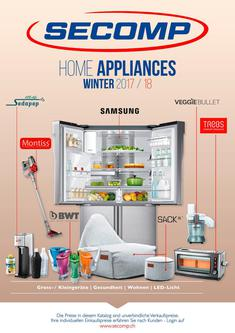 SECOMP Home Appliances Ausgabe Winter 2017/2018