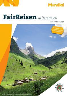 Fairreisen in Österreich gültig von April - Oktober 2014