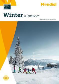 Winter in Österreich gültig von November 2013 - April 2014