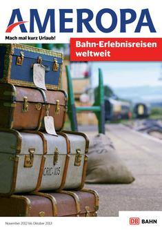 Bahn-Erlebnisreisen 2012/13