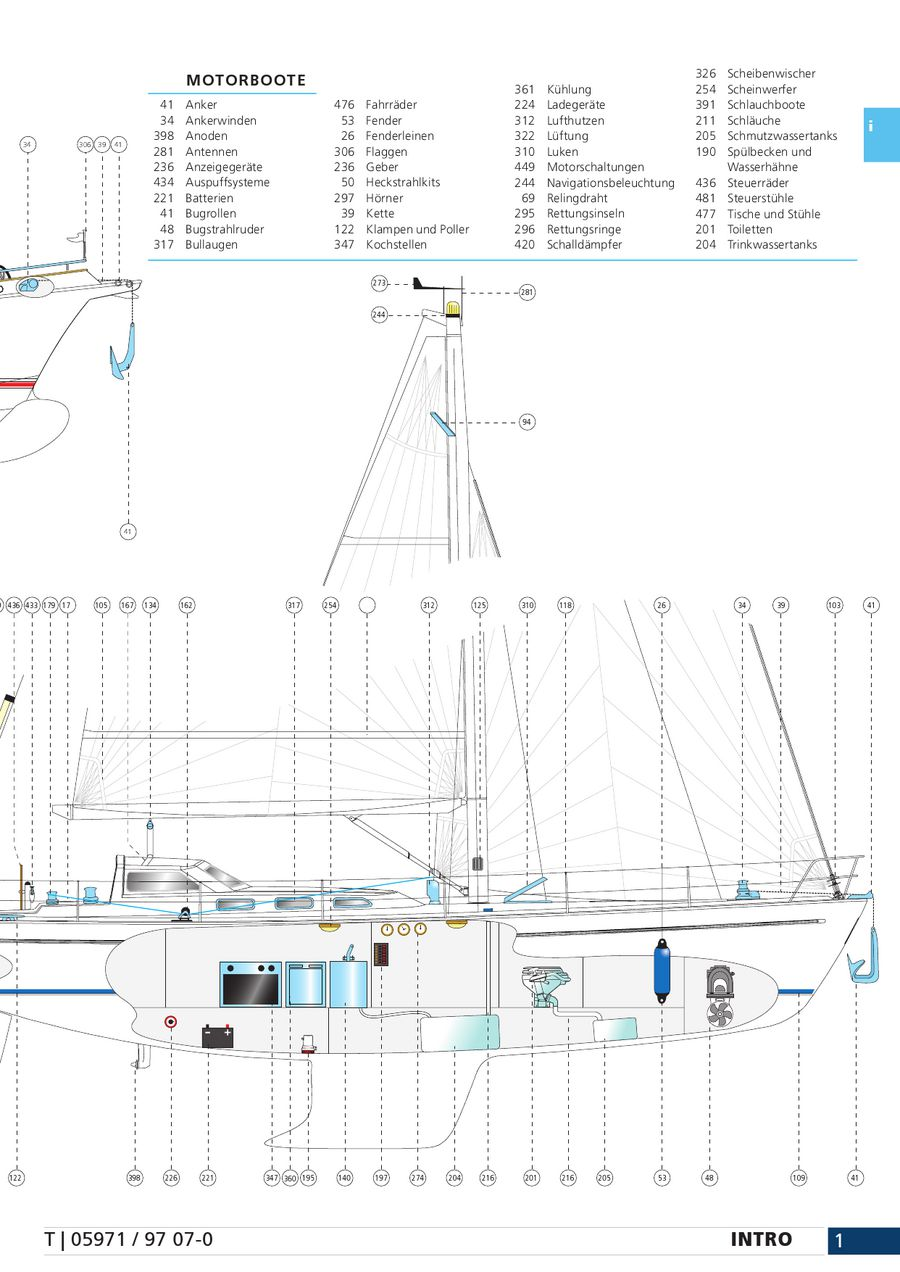 Seite 511 von Bootsteile Lankhorst 2012