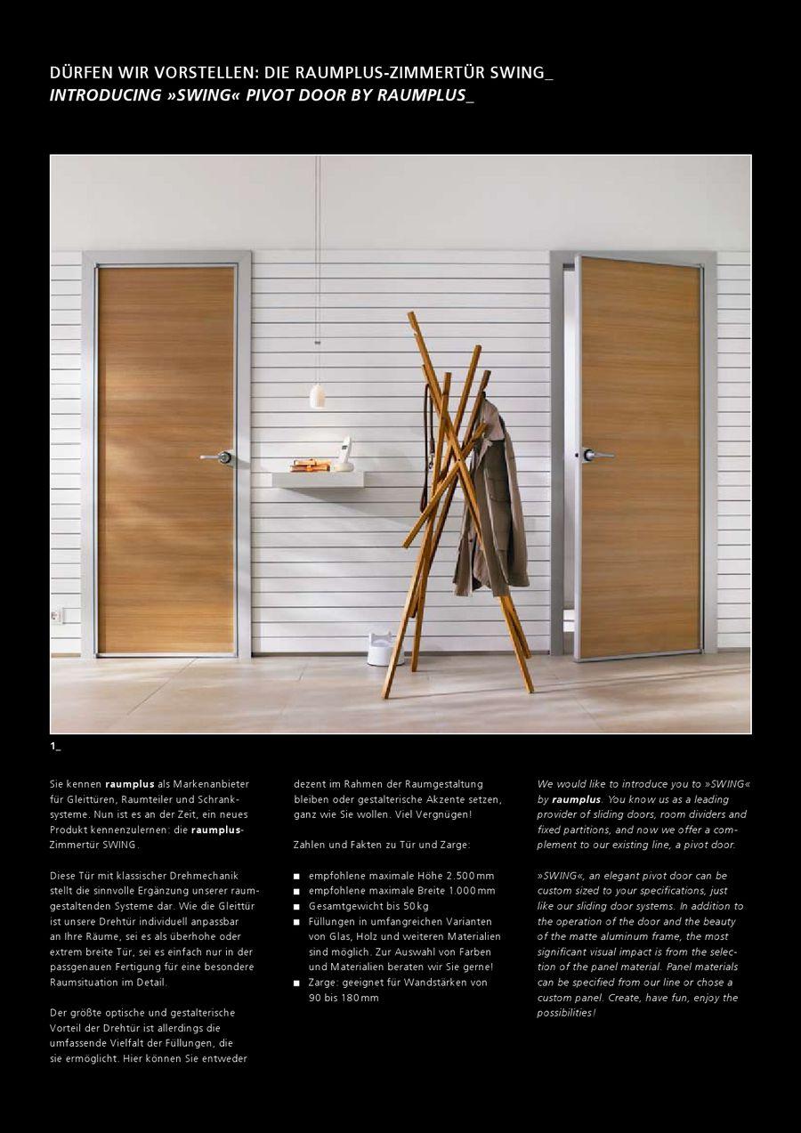 Zimmertür Plus von Raumplus