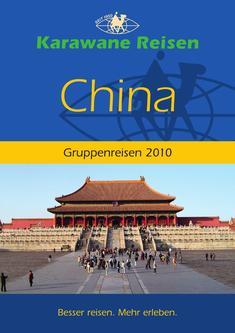 China Gruppenreisen 2010