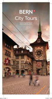 Bern City Tours Flyer 2013