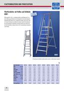 podestleiter in leitern und ger ste 2009 von himmelsbach leitern und ger stefabrik. Black Bedroom Furniture Sets. Home Design Ideas