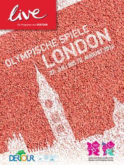 live - Olympische Spiele London / 27. Juli bis 12. August 2012