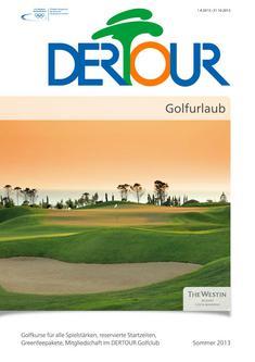 Golfurlaub Sommer 2013