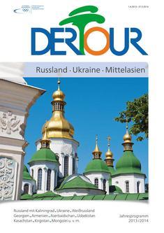 Russland, Ukraine, Mittelasien Sommer 2013