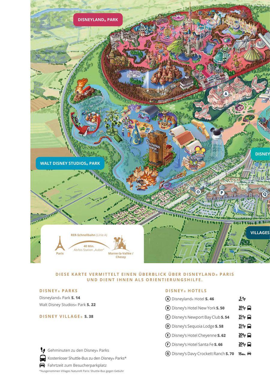 Disneyland Paris Karte 2018.Disneyland Paris 2017 2018 Von Dertour