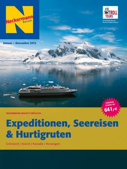 Expeditionen, Seereisen & Hurtigruten 2012