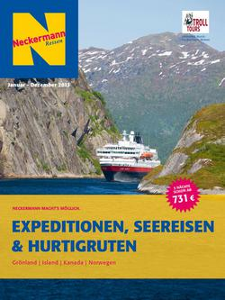 Expeditionen, Seereisen & Hurtigruten 2013
