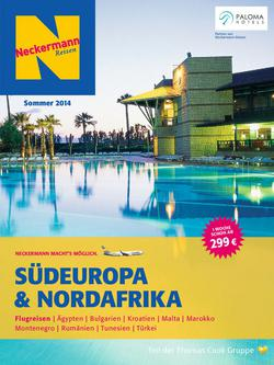 Südeuropa & Nordafrika Sommer 2014