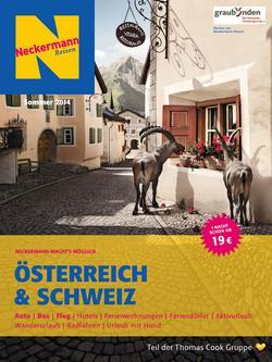 Österreich und Schweiz Sommer 2014