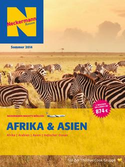 Fernreisen Afrika & Asien Sommer 2014
