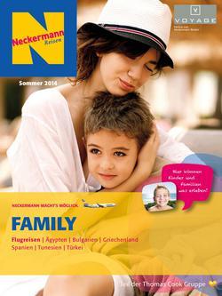 Family Flugreisen Sommer 2014