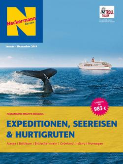 Expeditionen, Seereisen & Hurtigruten 2014